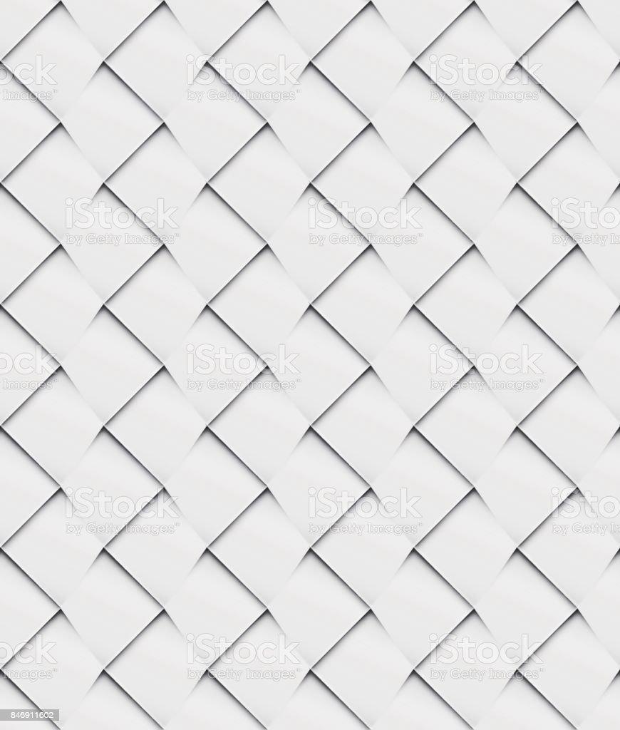 Ilustración de Patchwork Sin Costura Blanco Origami Patrón y más ...