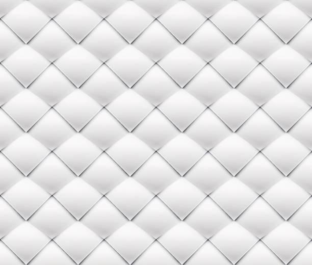 ilustraciones, imágenes clip art, dibujos animados e iconos de stock de patchwork sin costura blanco origami patrón - fondos arrugados