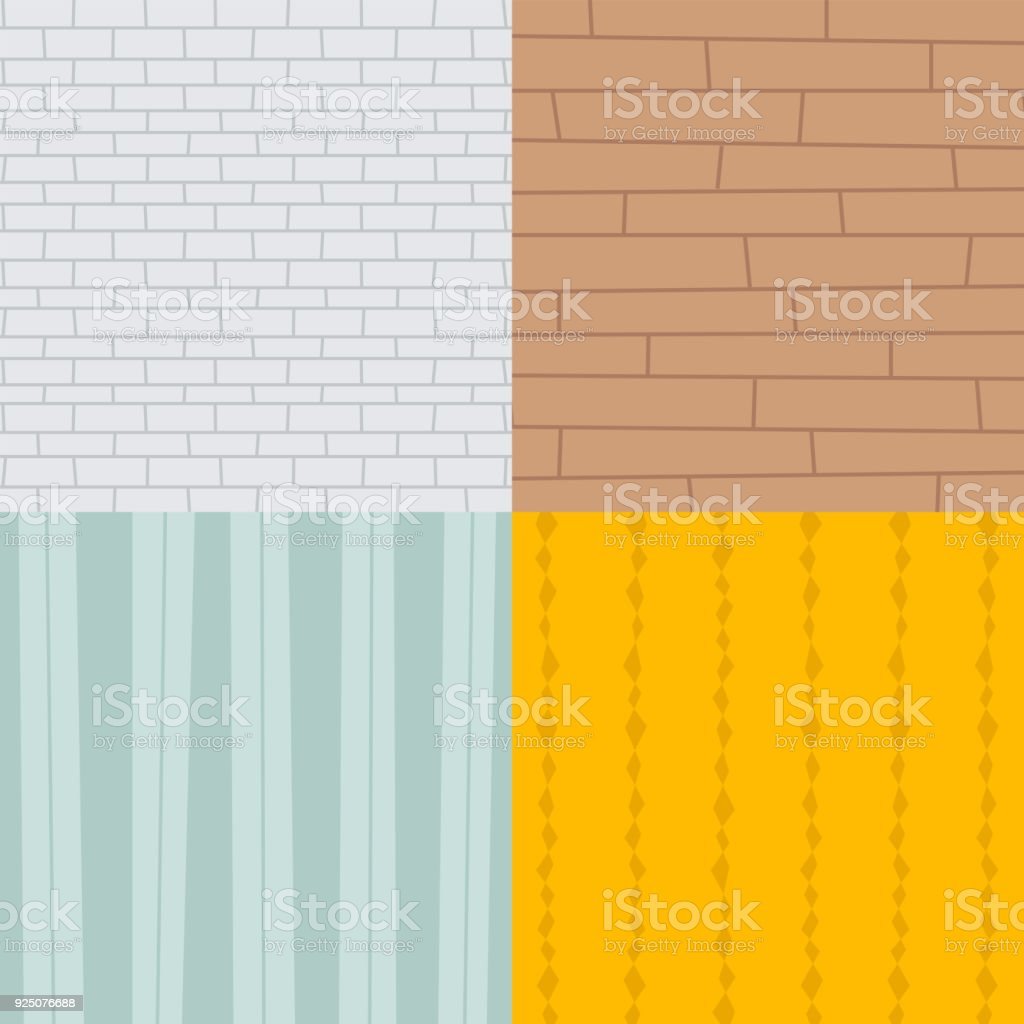 Patchwork Textile Brick Texture Seamless Clothes Pattern Background ...