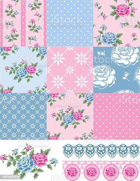 Patchwork vector floral rose patterns and trims vector id497082829?b=1&k=6&m=497082829&s=612x612&h=gptfpobzntowqucuclagmzox gjeuqmzw9js 7g12hc=