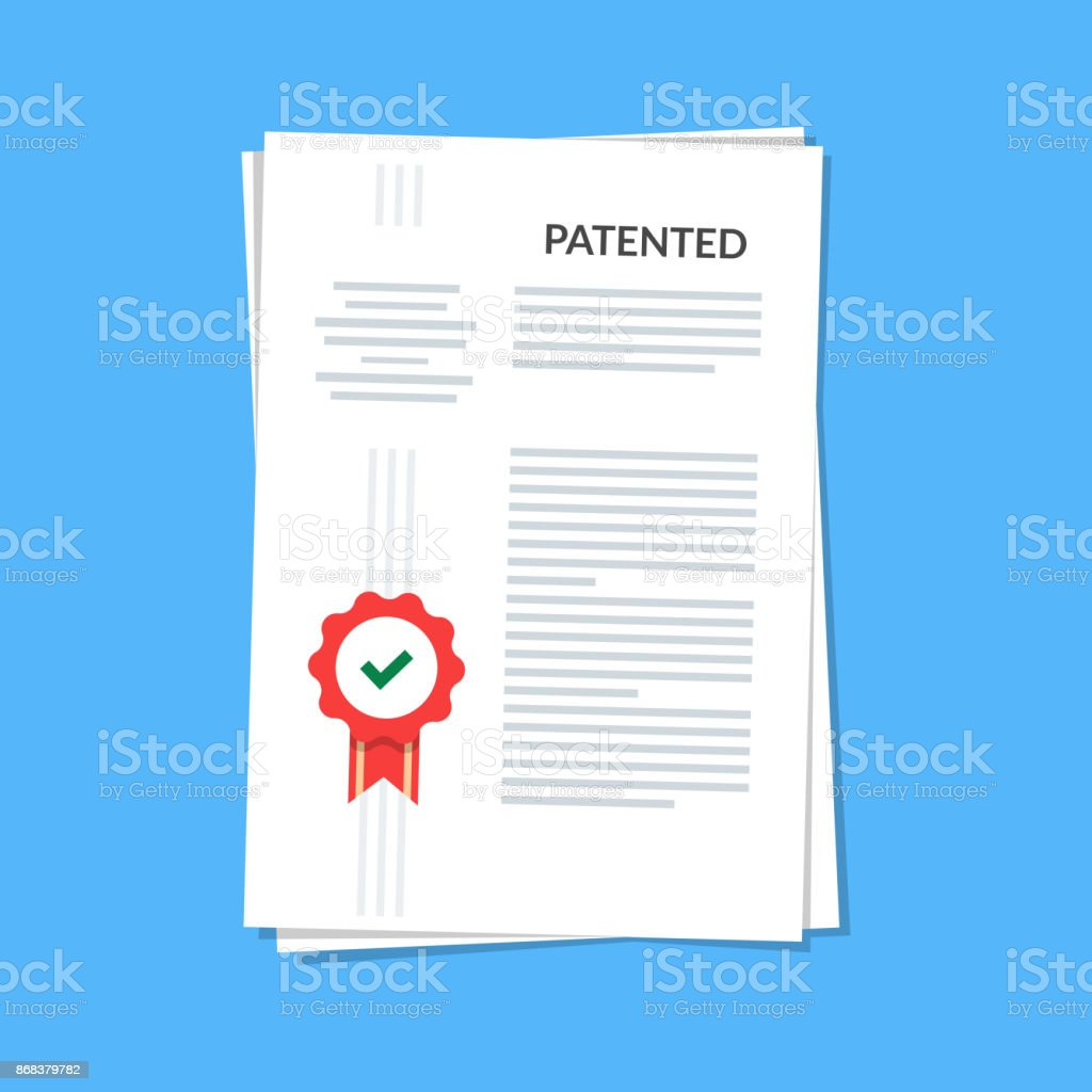 Intellectual Property Clip Art: Royalty Free Legal Document Clip Art, Vector Images