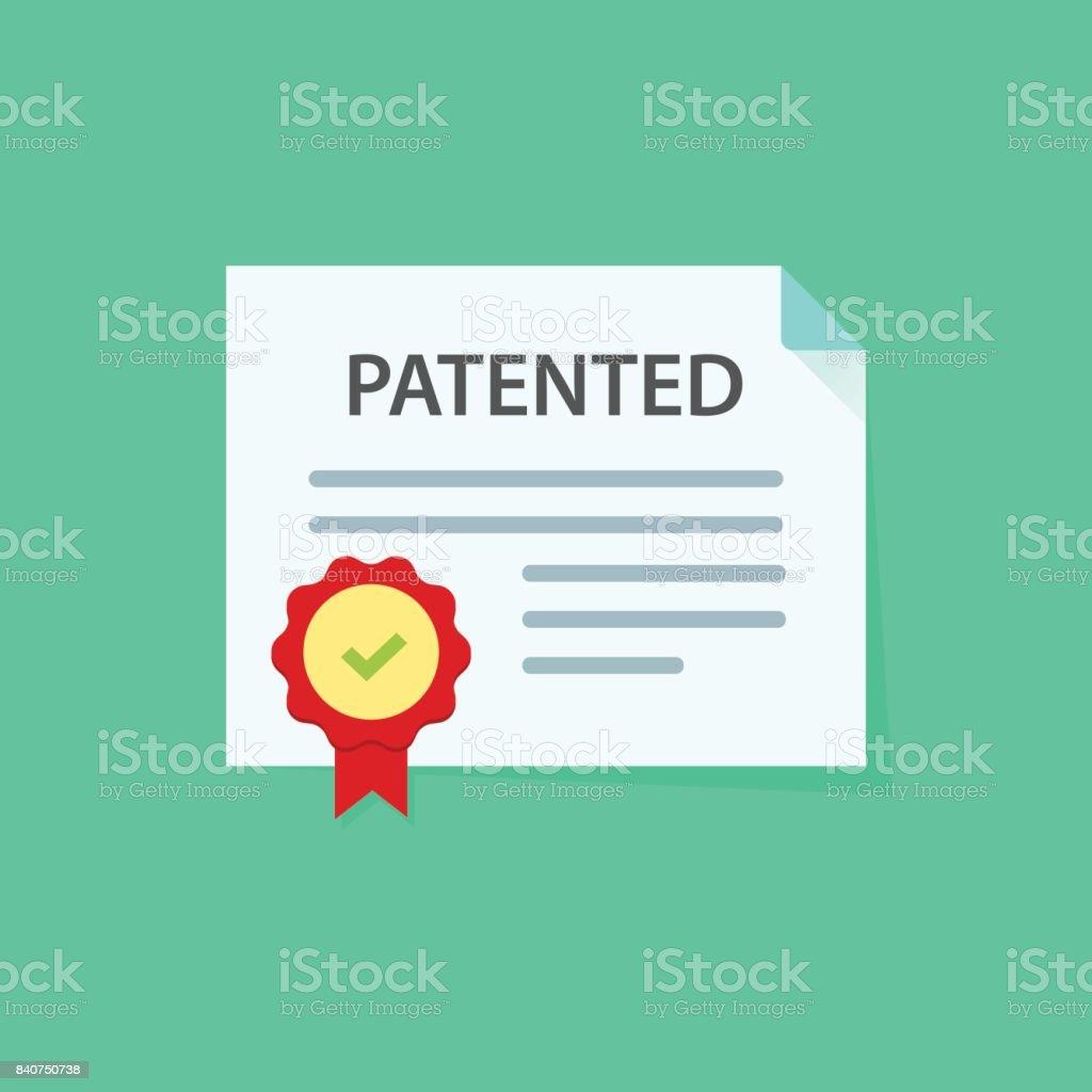 Intellectual Property Cartoon: Royalty Free Registered Trademark Symbol Clip Art, Vector