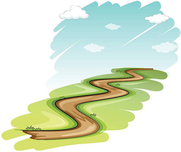 Winding Path Illustration Royalty Free Winding P...