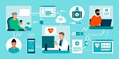 istock Patients connecting with their doctor online 1299104352