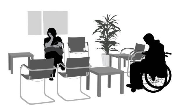 Woman Waiting Room Illustrations, Royalty-Free Vector Graphics ...