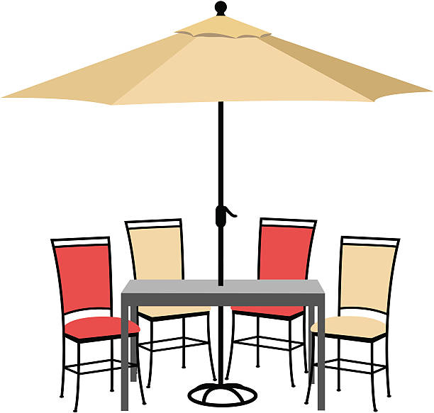 Furniture Clip Art: Best Patio Illustrations, Royalty-Free Vector Graphics