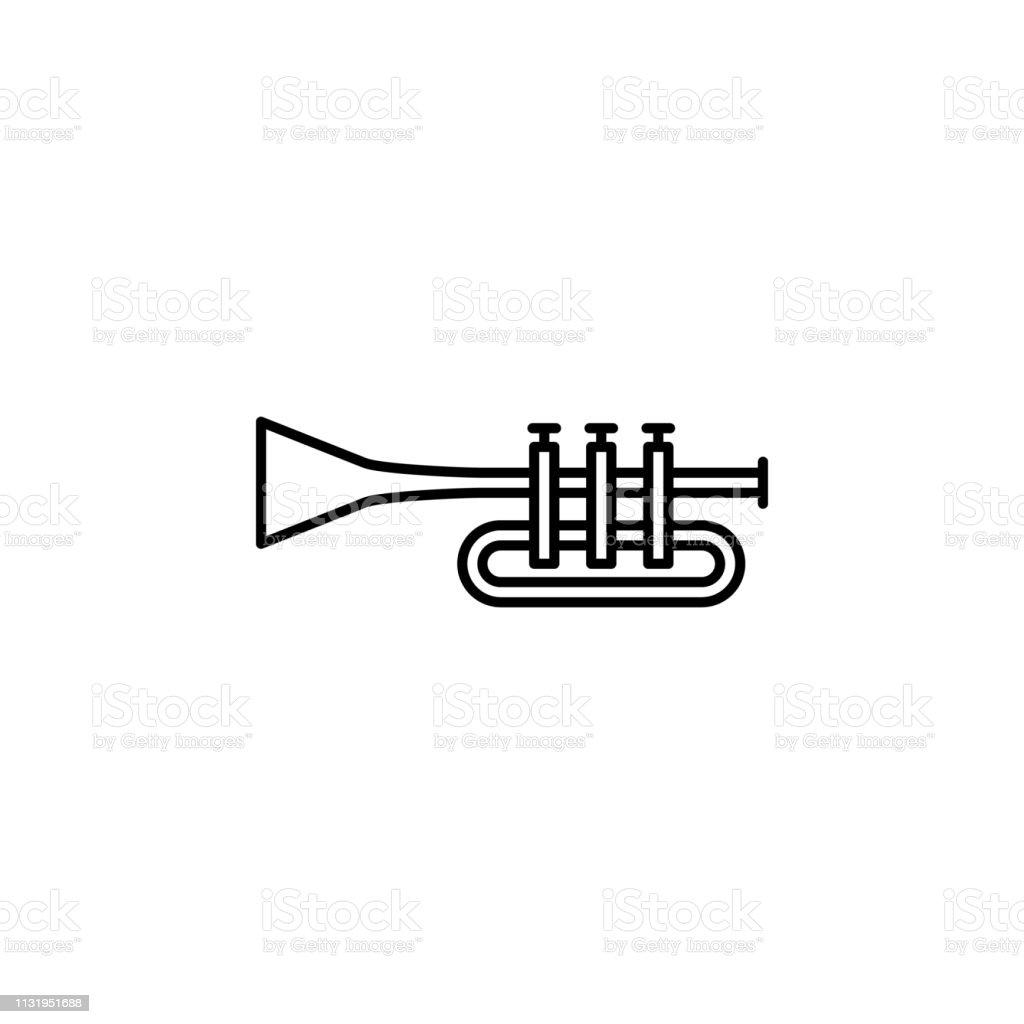 Patrick Day Instrument Trumpet Music Icon Element Of Patrick