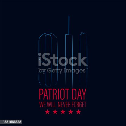 istock USA Patriot Day 911 remembrance day 1331566678