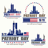 istock Patriot day, we will never forget 835070280