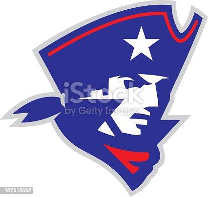 istock Patriot Head 487918695