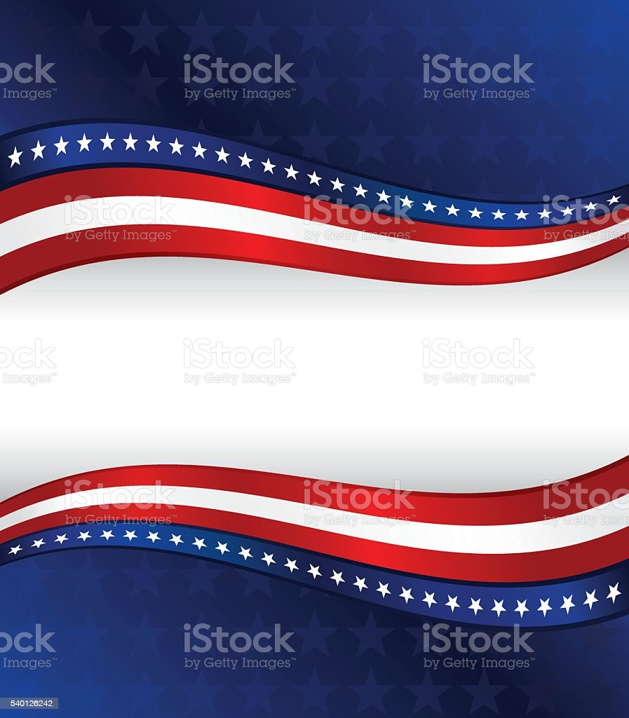 patriotic background red white blue with stars stripes