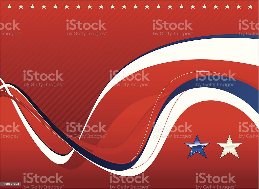 Patriotic background royalty-free patriotic background stock vector art & more images of abstract