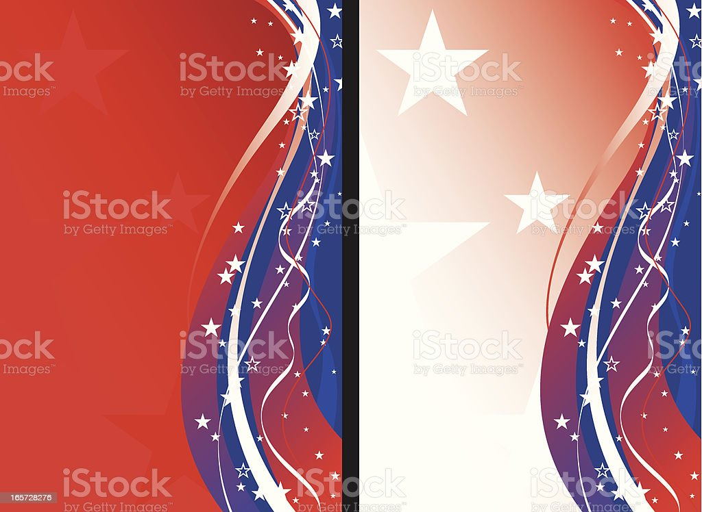 Patriotic Background royalty-free stock vector art