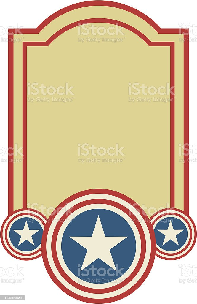 Patriotic Banner royalty-free patriotic banner stock vector art & more images of backgrounds