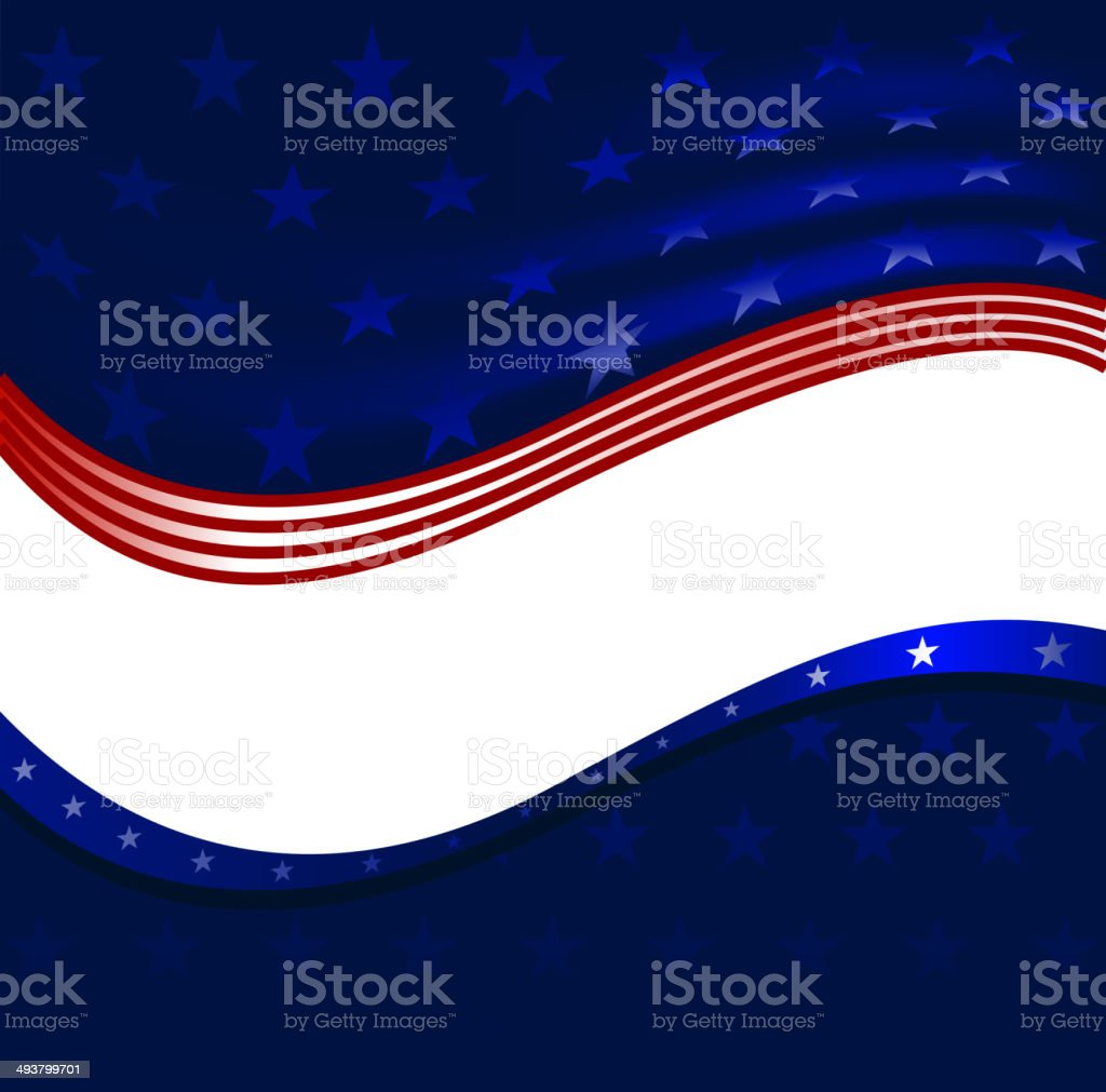patriotic borders royalty-free stock vector art