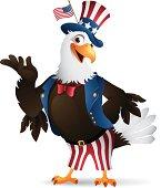 Patriotic Eagle - Uncle Sam
