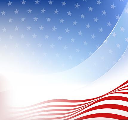 patriotic flag background