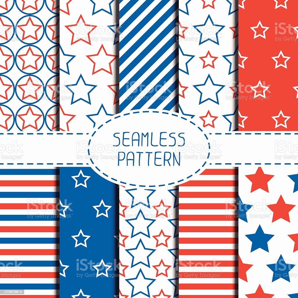 Patriotic seamless pattern american symbols usa flag 4th of july patriotic seamless pattern american symbols usa flag 4th of july royalty buycottarizona Choice Image