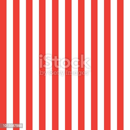 istock Patriotic wallpaper red and white stripes pattern vector American flag striped background 1013587598