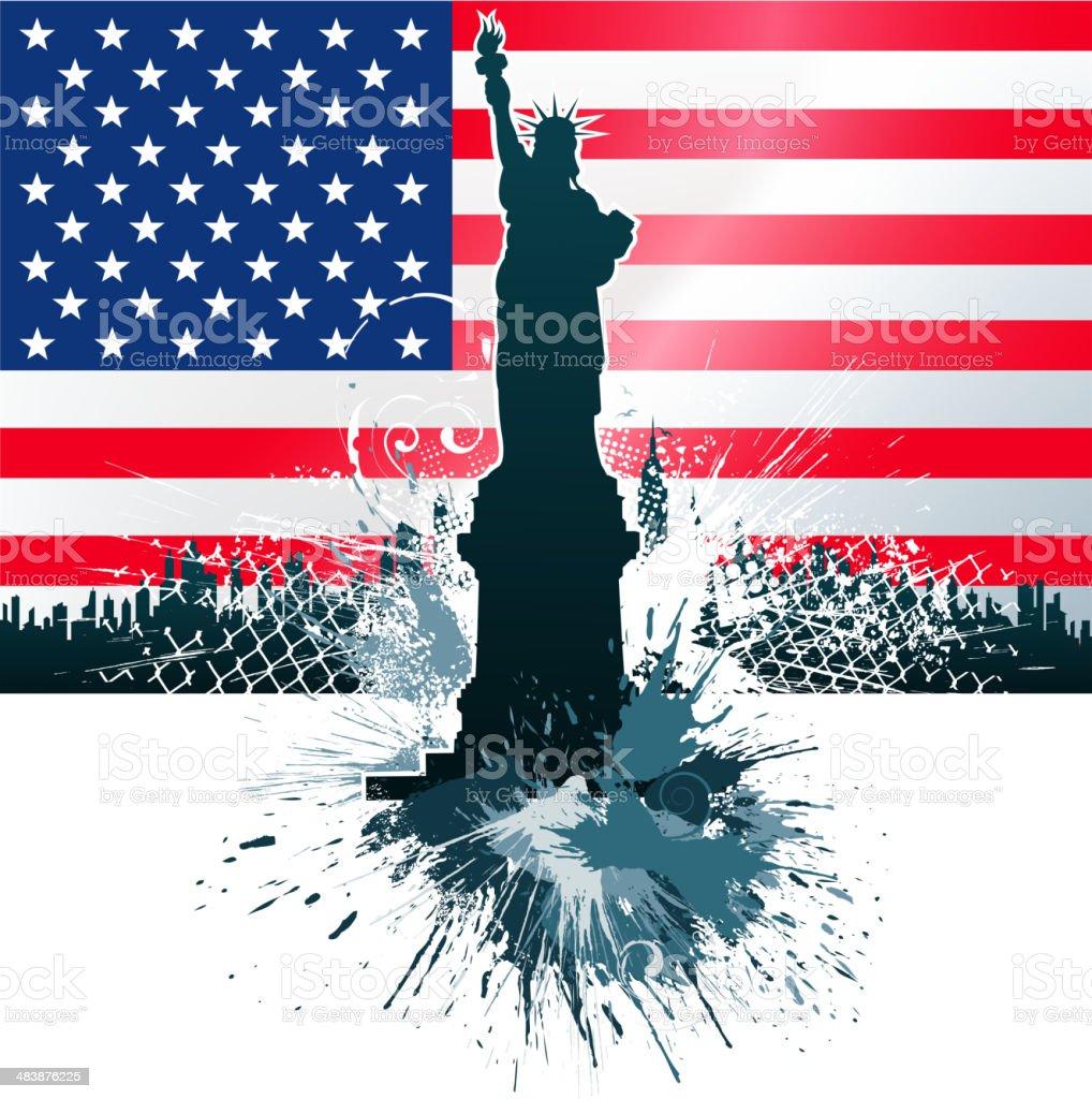 patriotism symbols royalty-free stock vector art