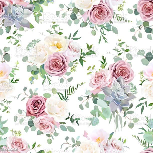 Pattern arranged from dusty pink creamy white antique rose vector id1134666290?b=1&k=6&m=1134666290&s=612x612&h=m6dhnl uzbmrj rylufjmykekc s zoanwiededfjfg=