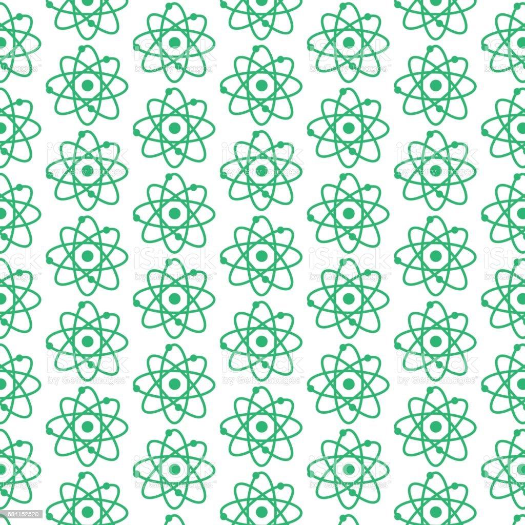 patroon achtergrond atoom pictogram royalty free patroon achtergrond atoom pictogram stockvectorkunst en meer beelden van abstract