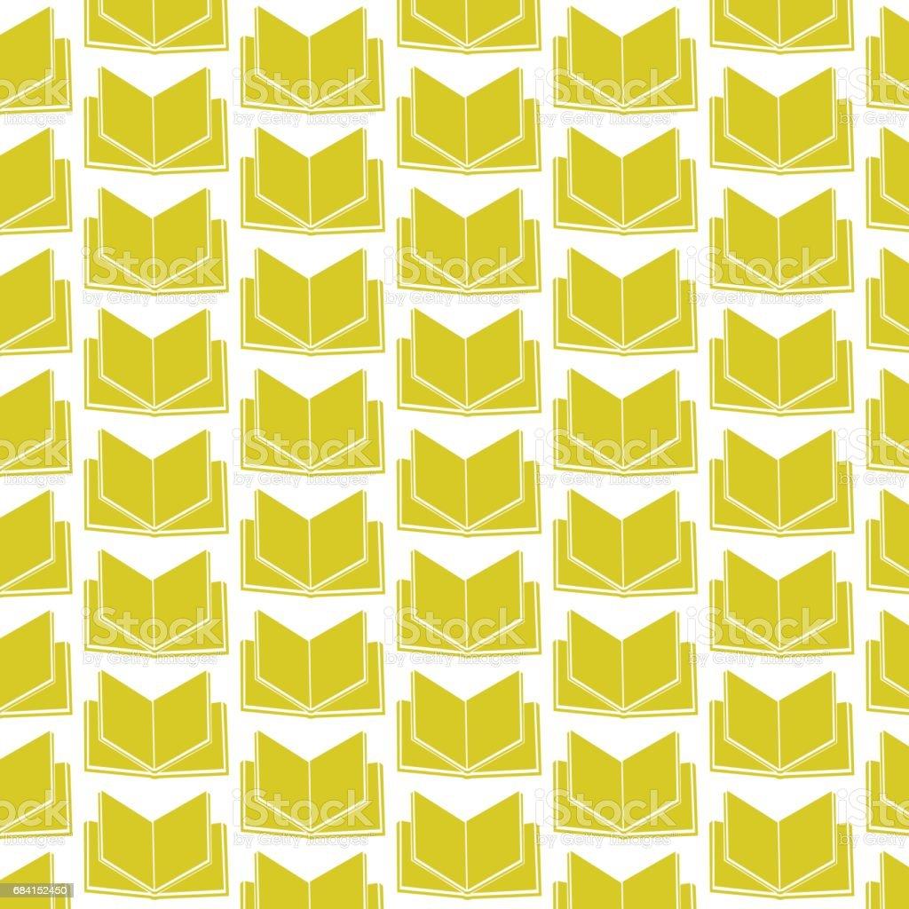 pattern background Book icon pattern background book icon - stockowe grafiki wektorowe i więcej obrazów abstrakcja royalty-free