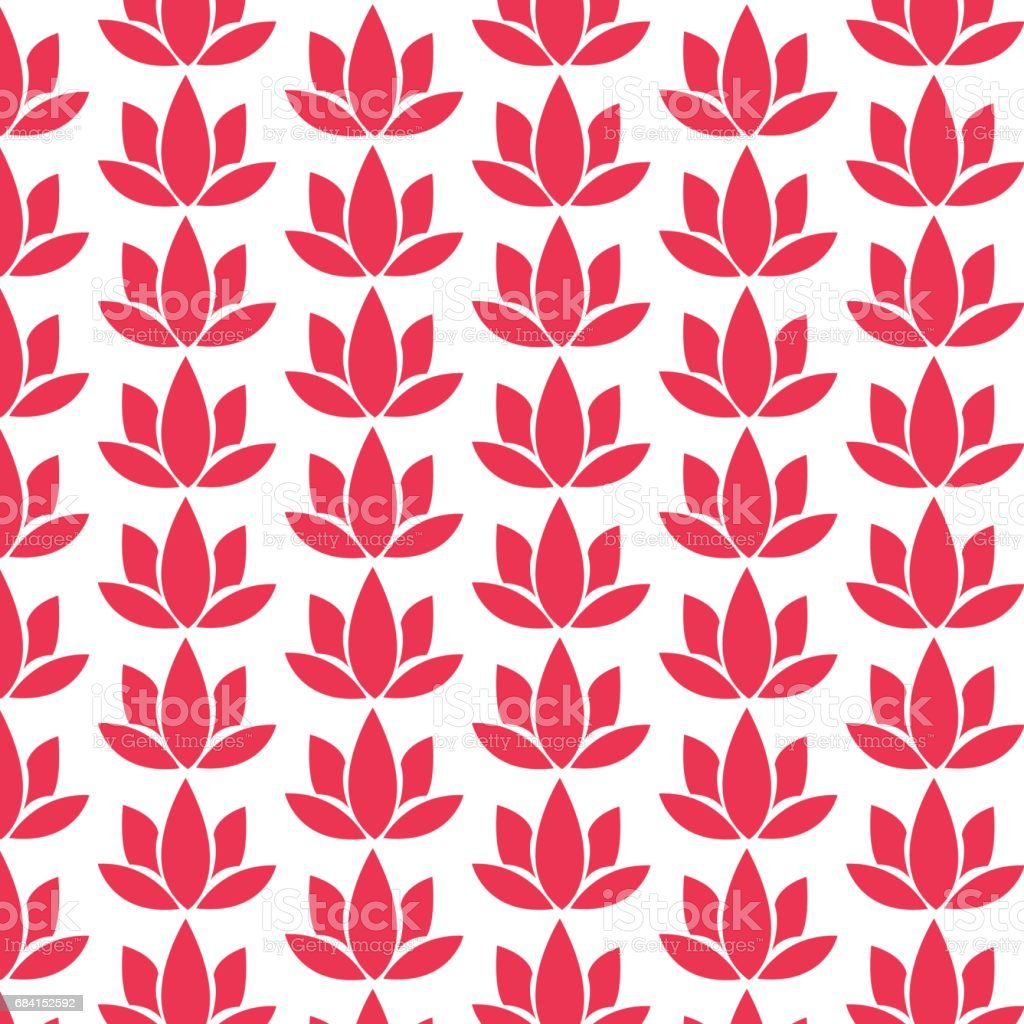 pattern background lotus icon pattern background lotus icon - immagini vettoriali stock e altre immagini di antico - vecchio stile royalty-free