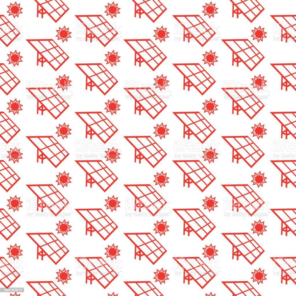 Pattern background Solar energy solar panel icon pattern background solar energy solar panel icon - immagini vettoriali stock e altre immagini di arredamento royalty-free