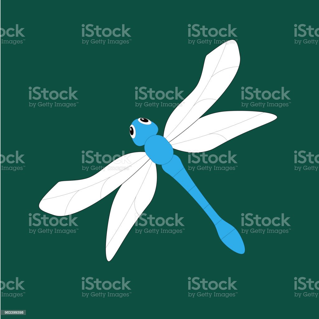 pattern dragonfly design - Zbiór ilustracji royalty-free (Abstrakcja)
