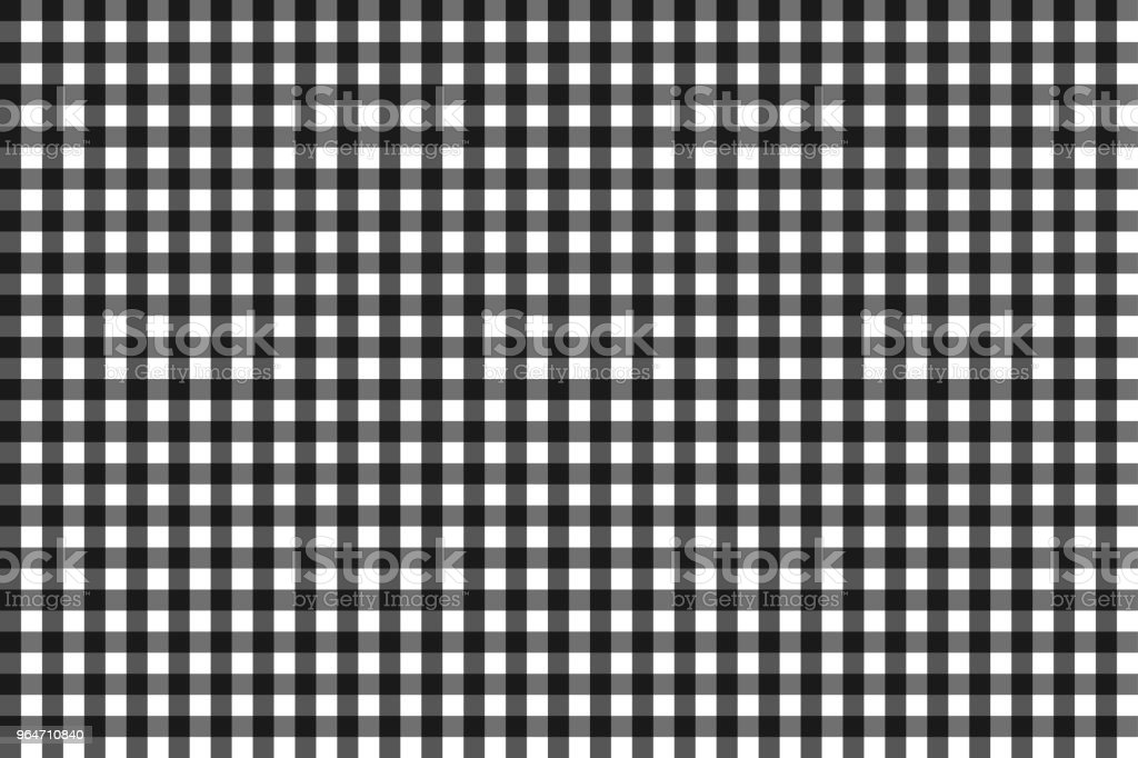 Pattern for black and grey checkered tablecloth, seamless royalty-free pattern for black and grey checkered tablecloth seamless stock vector art & more images of black color
