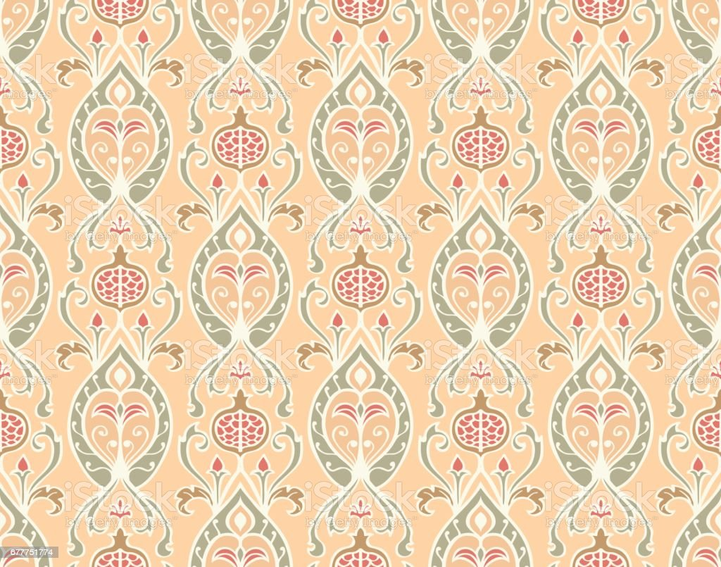 Pattern for wallpaper. royalty-free pattern for wallpaper stock vector art & more images of abstract