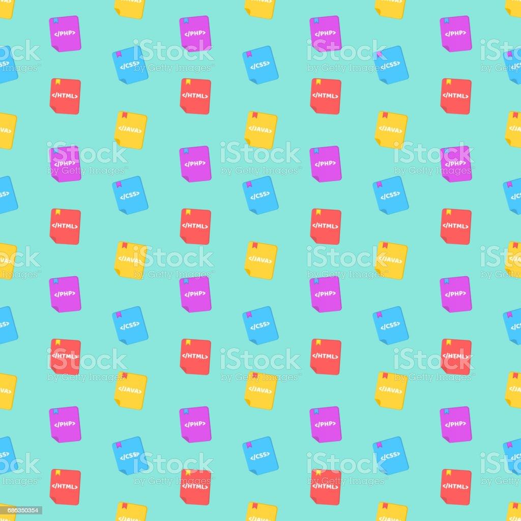 Ilustración de Un Patrón De Lenguajes De Programación Libros De ...