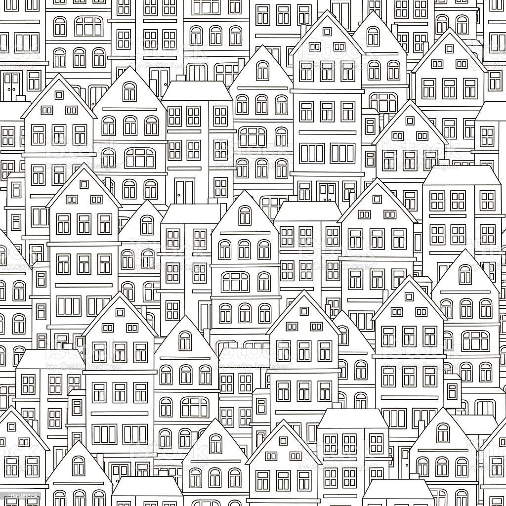 Gm Wohndesign Erfahrung: Pattern House Stock Illustration