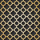 Pattern in oriental style