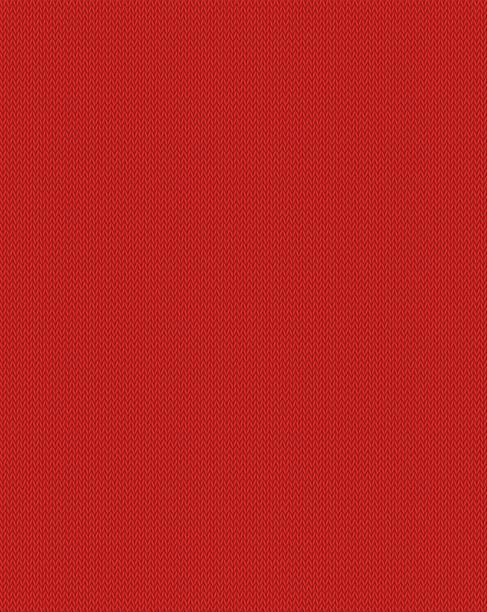 illustrazioni stock, clip art, cartoni animati e icone di tendenza di pattern knitted wool and textile repeatable fabric background, knitting textured seamless pattern. vector illustration, isolated closeup. - pezze di stoffa