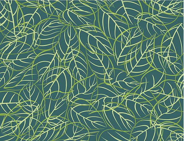 pattern leafs / feuilles - 葉狀花紋 幅插畫檔、美工圖案、卡通及圖標