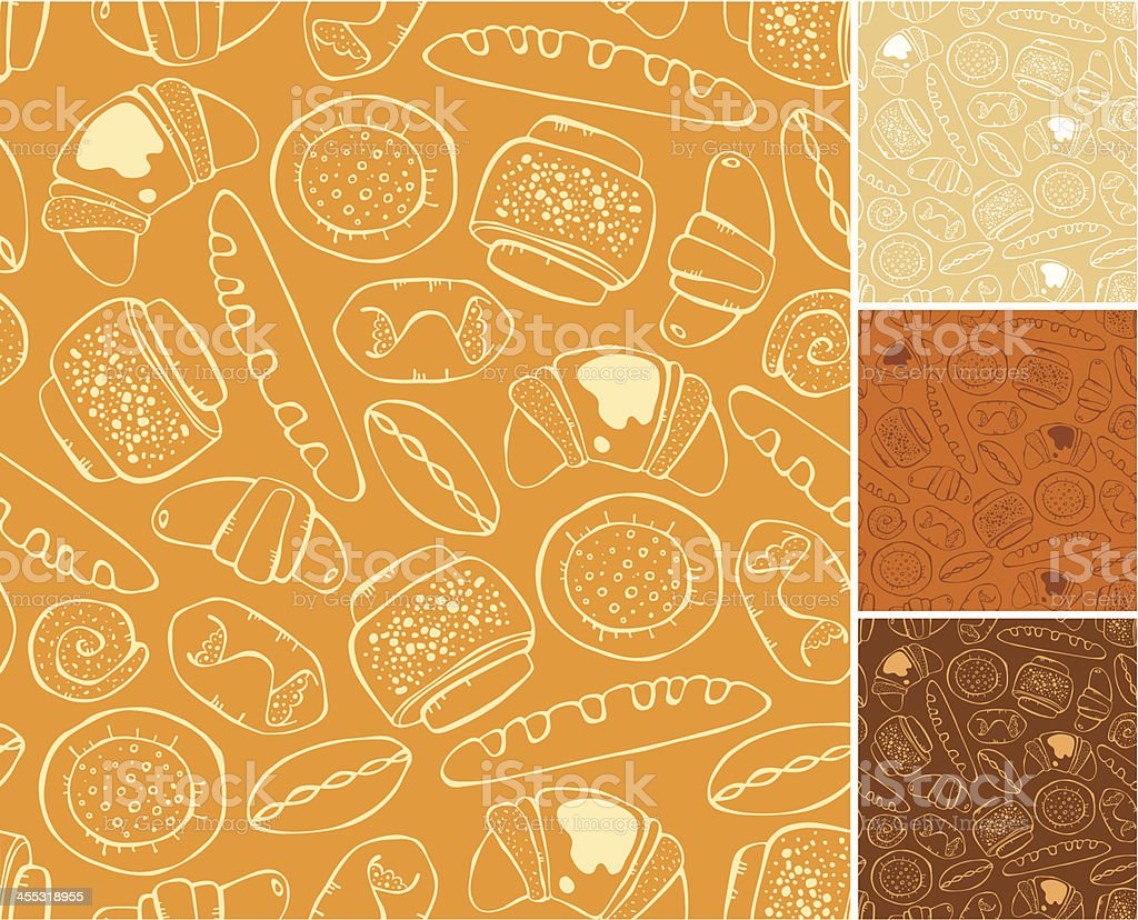 pattern of baking royalty-free stock vector art