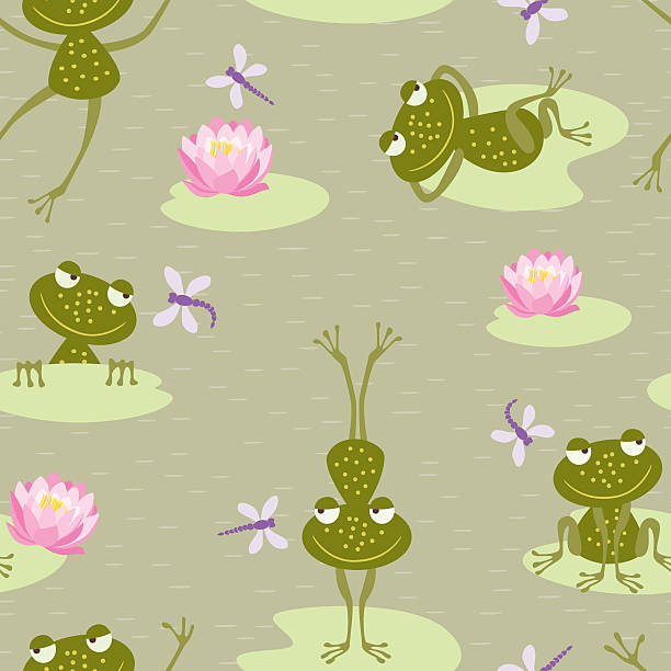 Royalty Free Frog Leaping Clip Art, Vector Images ...