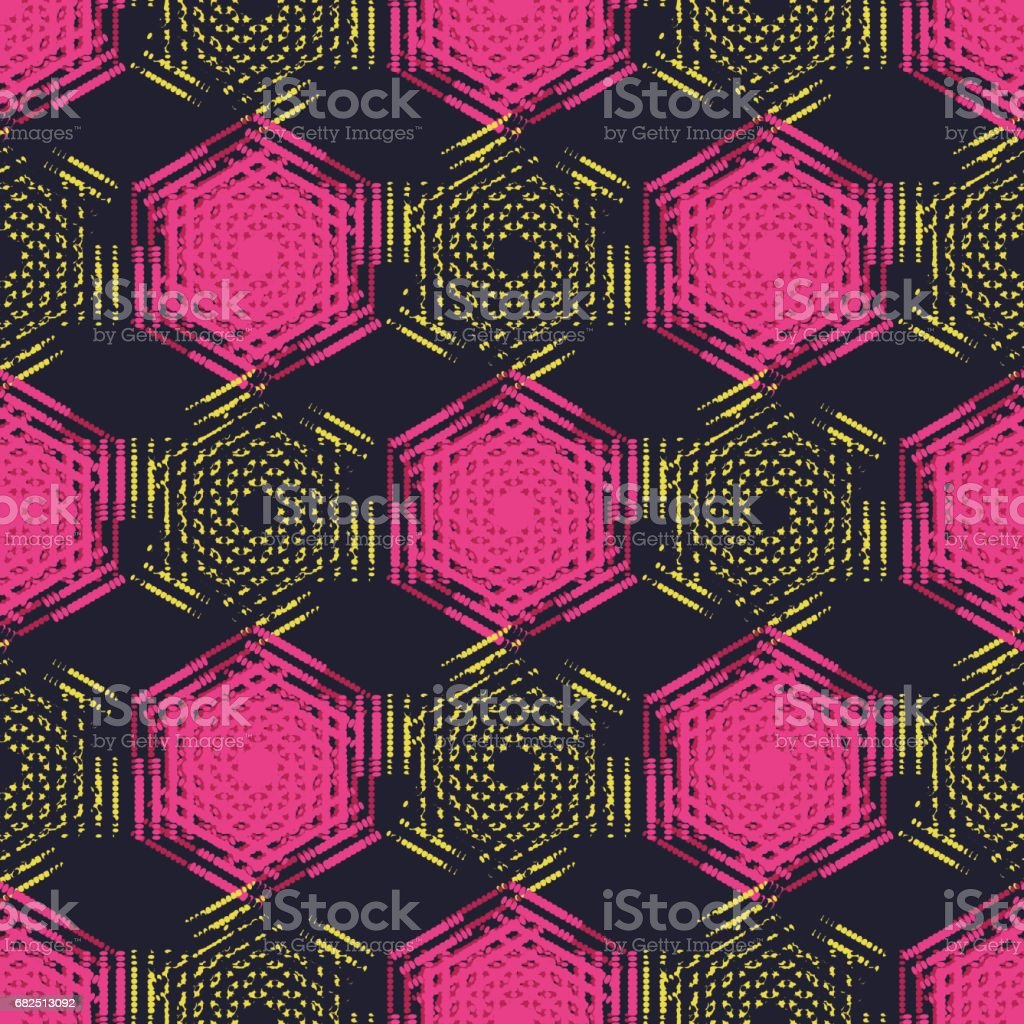 Pattern of dots. Vector seamless background. royalty-free pattern of dots vector seamless background stock vector art & more images of abstract