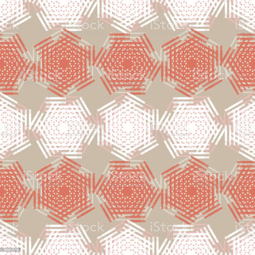 Pattern of dots. Vector seamless background. pattern of dots vector seamless background - arte vetorial de stock e mais imagens de abstrato royalty-free