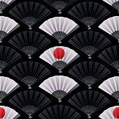 Pattern of fans