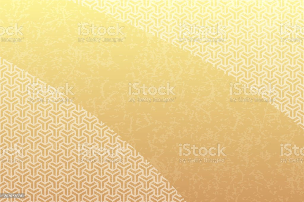 Pattern of honeycomb shape. vector art illustration