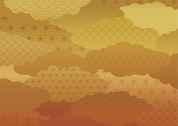 ilustrações de stock, clip art, desenhos animados e ícones de padrão de quimono - oceano pacífico