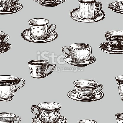 istock pattern of the teacups 476696798