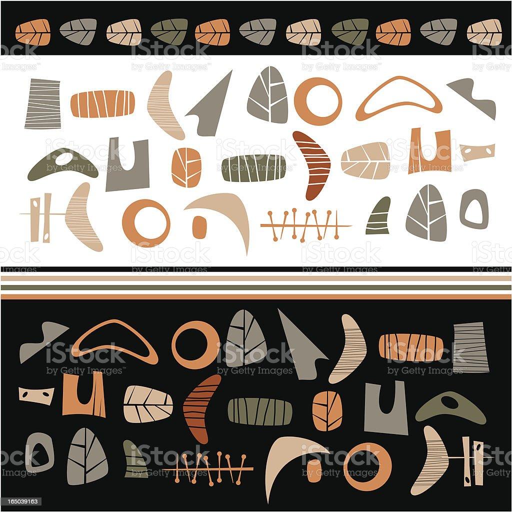 Pattern Parts vector art illustration