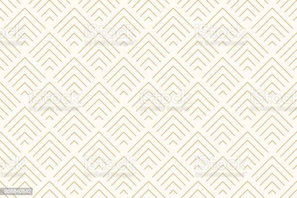 圖案無縫抽象背景雪佛龍金色和線條幾何線向量向量圖形及更多傾斜角度圖片
