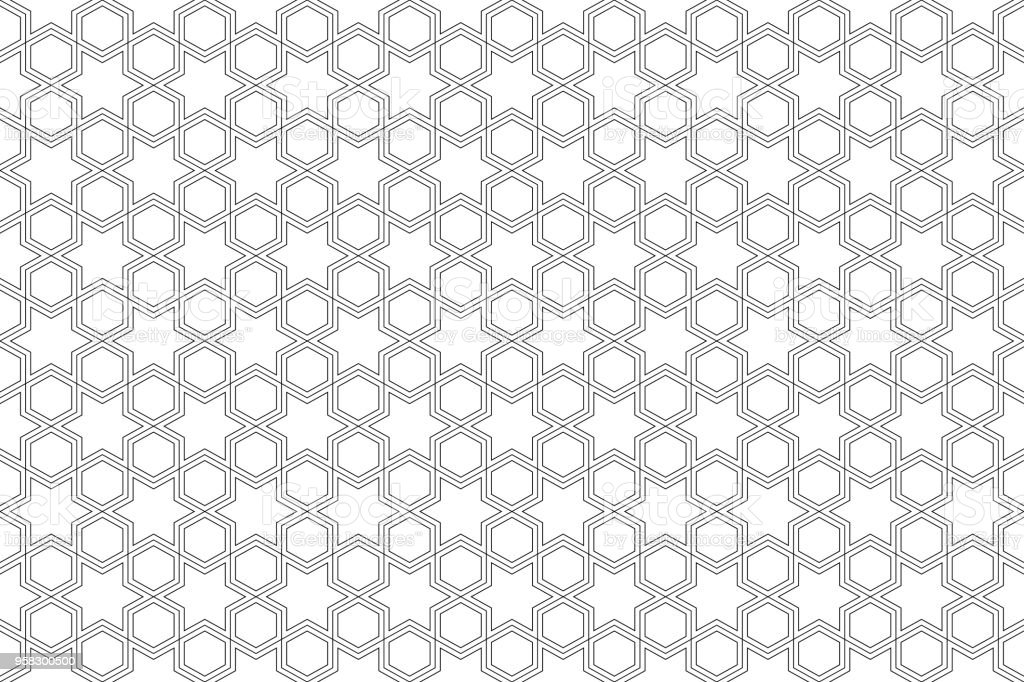 Ilustración de Patrón Transparente Fondo Abstracto Blanco Color Y ...
