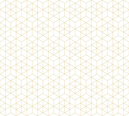 Pattern seamless abstract background white color and gold line. Geometric line vector. clipart