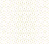 Pattern seamless abstract background white color and gold line. Geometric line vector.